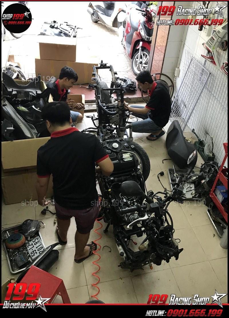 shop 199 cua hang len doi xe sh chuyen nghiep uy tin hcm 002