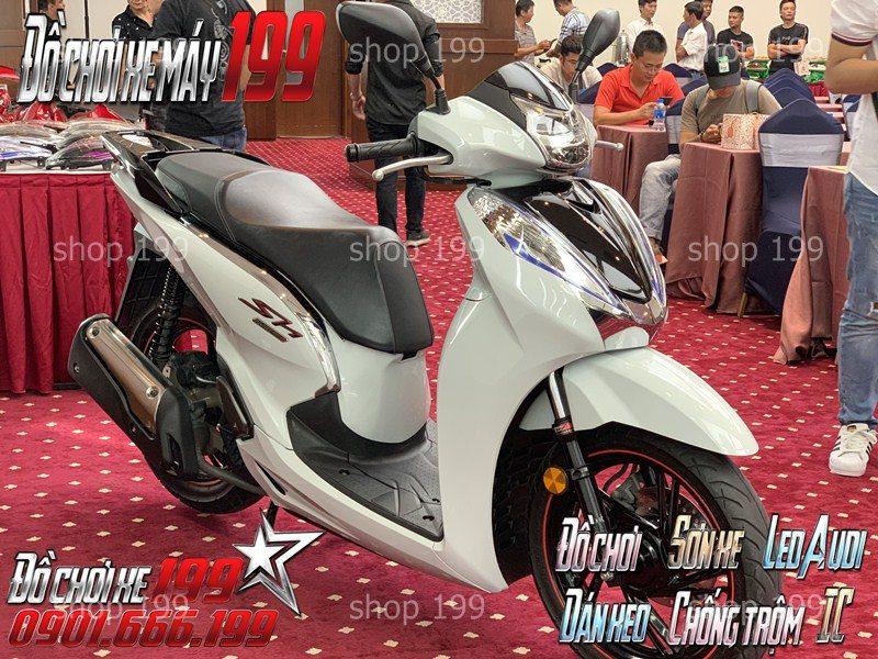sh 300i Z edition phiên bản trắng sang trọng
