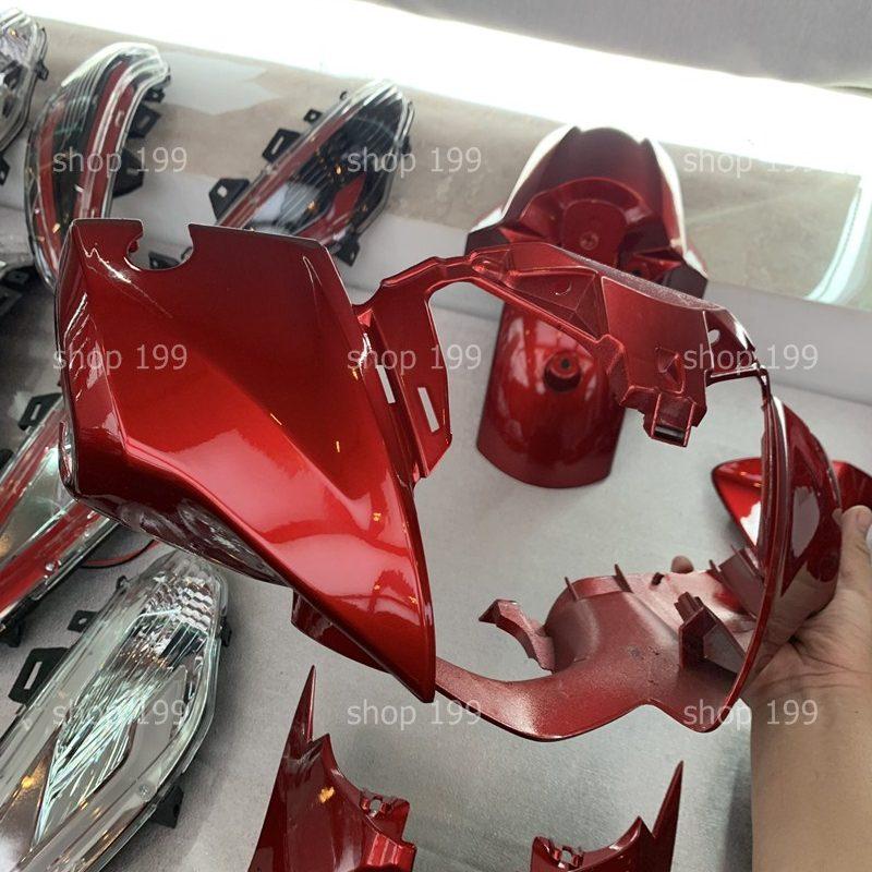 Dàn mũ đầu đèn sh 300i Z edition màu đỏ